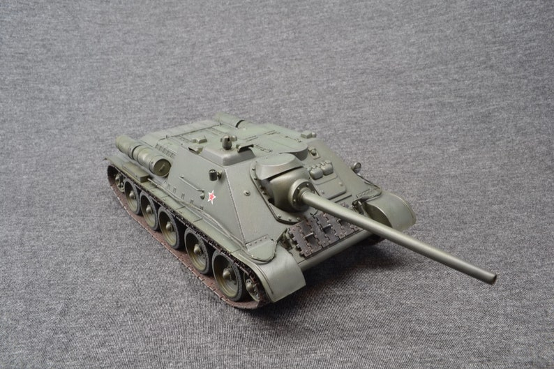 SU-85 1/35 Tank Destroyer Russian World of Tanks image 0