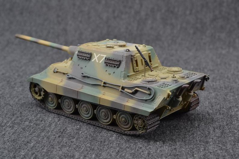 JagdTiger II 1/72 Tank Destroyer  German Armored Fighting image 0