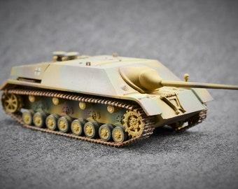 Jagdpanzer IV Tank Destroyer, 1/72, German, Armored Fighting Vehicle, 2nd World War, Display Model Tank, Military Gift