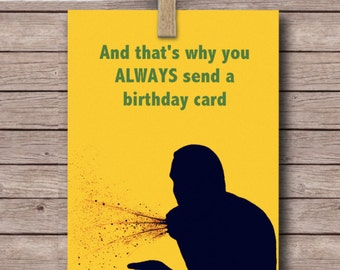 Instant download, Arrested development card, Funny birthday card, Walter Weatherman greeting card, printable