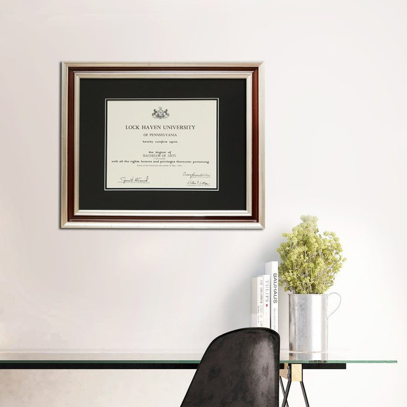 82c9670cf82 Professional Diploma Frame Certificate Collage Highschool