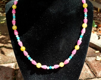 Glass Candy Necklace