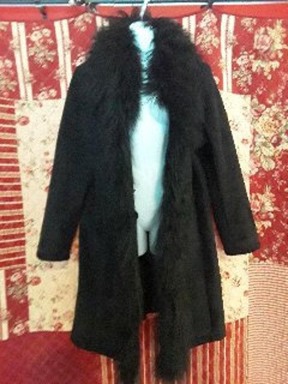 Vintage mohair winter coat