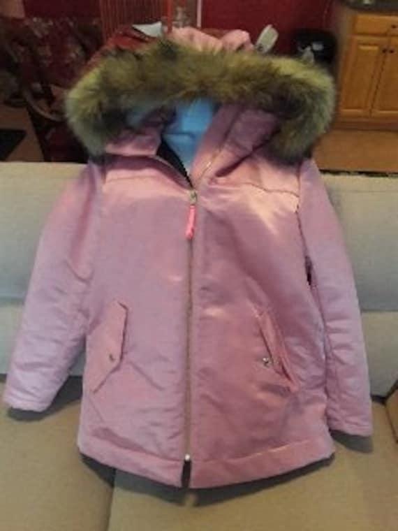 J Crew pink winter coat