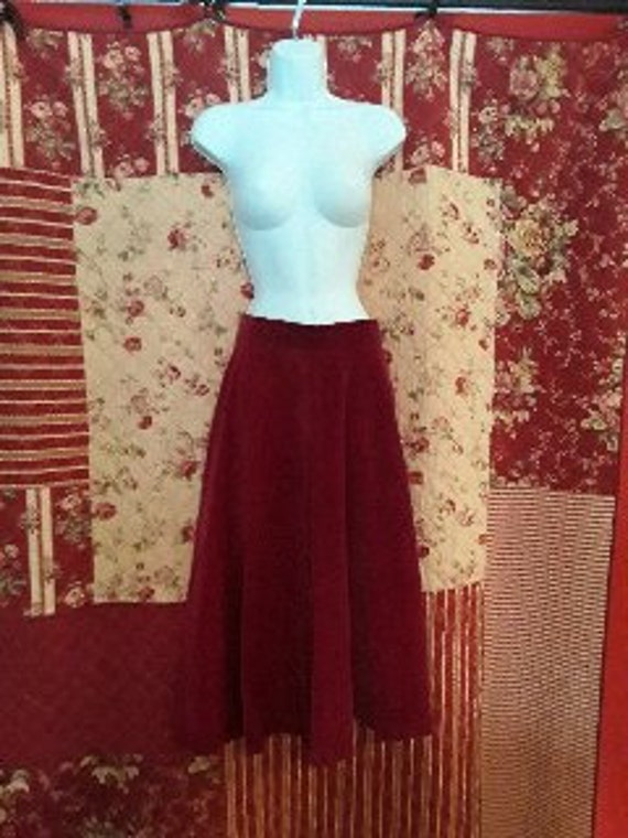 Vintage winter skirt