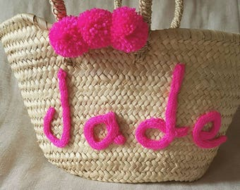 Kids personalized basket