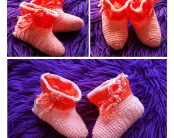 Hand made baby boots