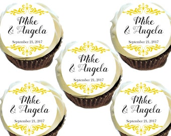 Wedding, Bridal Shower, Rehearsal Dinner Edible Images! *Printed on Premium Quality Icing Sheets*