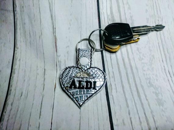 keychain holder Aldi Aldi quarter Aldi Etsy keeper Aldi quarter wzUxIx7fqY