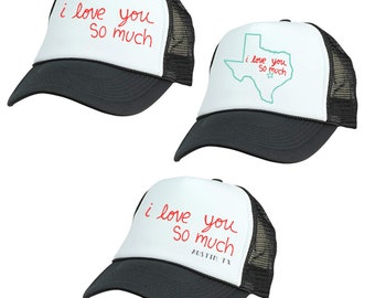 I Love You So Much Trucker Hat 03f4925974d8
