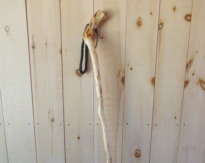 Adirondack natural curved walking stick