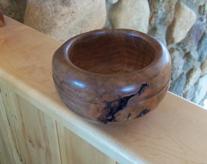 Adirondack burl bowl