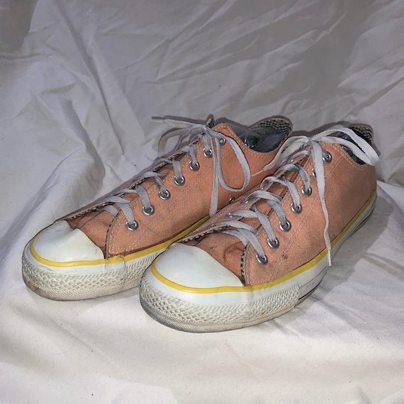 Vintage 1980's Converse Chuck Taylor Low Tops Made