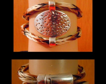 Not For Sale custom order-LH532-Horse Hair  bracelet horsehair jewelry