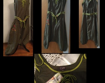 Lot  57 of 3 items Cotton Jumper Low crotch, Gauze Dress, Cotton Dress