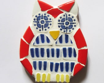 Mosaic OWL perfect for a child's room decor