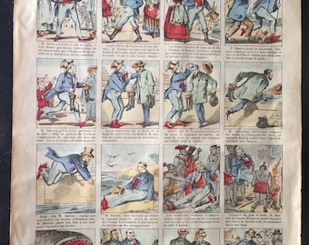 Newspaper pull out story sheet