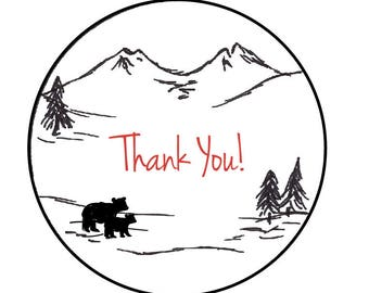Adventure Awaits Thank You Card // Nice to Note You