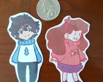 Pines Twin Stickers