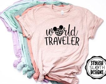 Matching Shirts for Disney World Traveler Shirt Couples Disney Shirts Epcot T-shirt Disney shirts for women