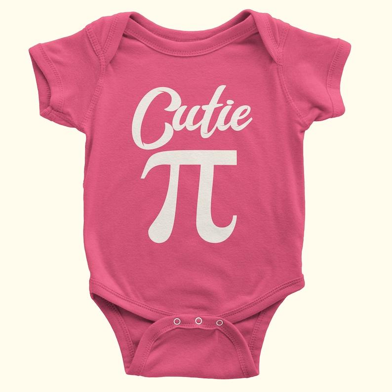 30fea9bc7 Cutie Pi Onesie Match baby gift Funny Onesie Baby Onesie