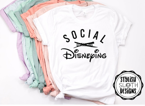 Social Distancing 6 Feet Apart Shirt Matching Shirts Disney Vacation 6 Feet Apart Disney Disney New Year Family Shirts Covid Disney