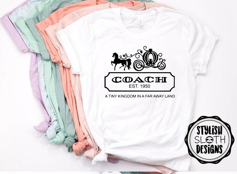 Cinderella coach Disney shirt Disney shirt for women  Unisex image 0