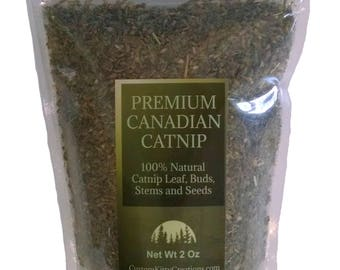 Catnip (Coarse Cut)  2oz - 16oz  Fresh Premium Canadian Cat nip Treat