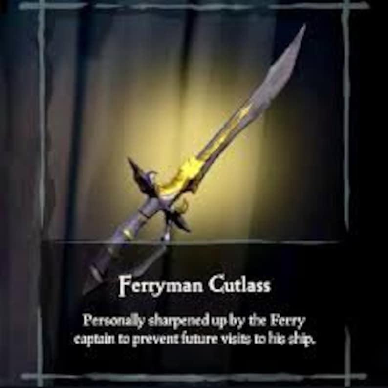 Sea of Thieves Ferryman Sword