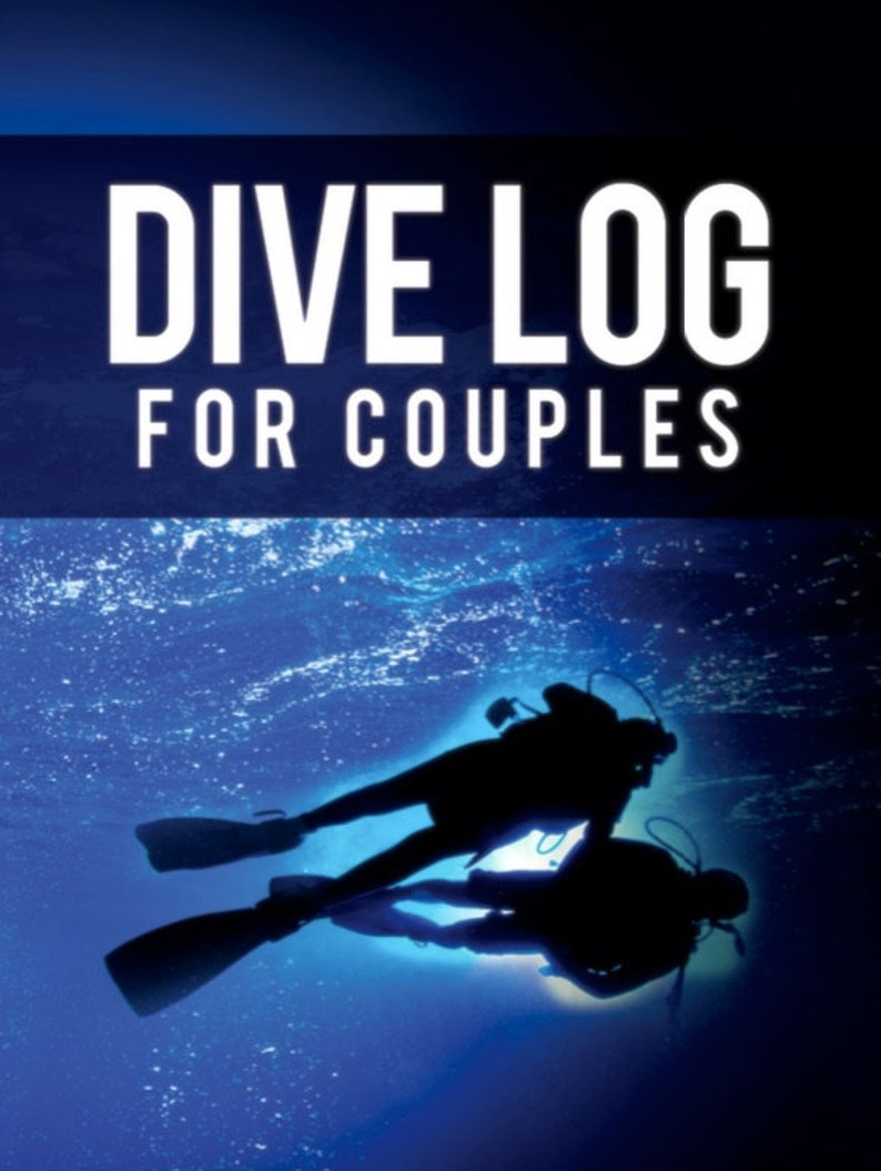 The Scuba Dive Log Book for Couples image 0