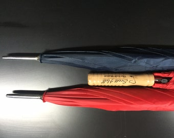 Classic Personalized Umbrella - Large Red or Blue