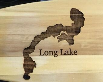 Custom Engraved Canoe Paddle