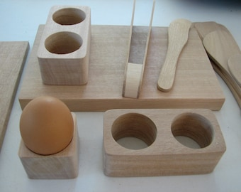 One Double Egg Cup and 3 Single Egg Cups