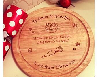 Chtistmas Eve Santa &Rudolph board