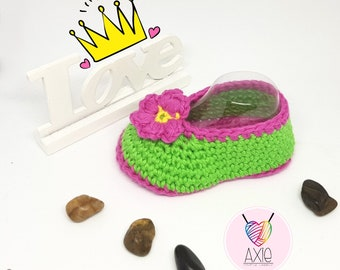 Fairy crocheted Baby shoes-crochet Fairy shoes