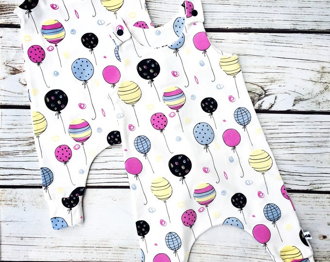 "Jumpsuit in magical jersey ""balloons"""