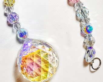 Rainbow Maker - Swarovski 30mm AB Suncatcher
