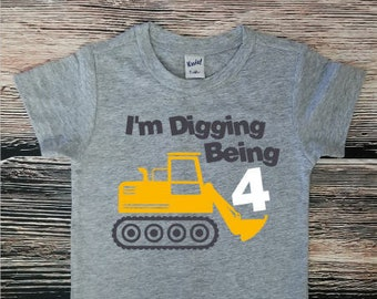 4b1910764 Construction Birthday Shirt, Dump Truck Birthday Party, Truck Birthday Shirt