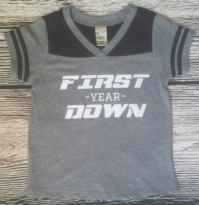 First Birthday Football Shirt Personalized