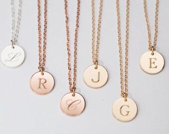 Letter J Necklace Gold C M Silver R L H A B E F O Q S T U