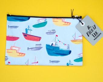 Bobbin Boat pencil case