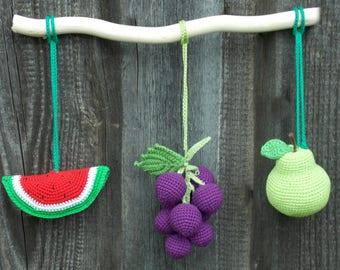 Häkeln Sie Obst Und Gemüse Häkeln Sie Lebensmittel Birne Etsy