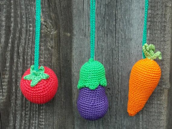 Häkeln Sie Obst Und Gemüse Häkeln Sie Essen Birne Kohl Etsy