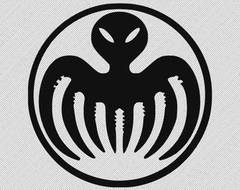 Vinyl Decal- James Bond Spectre Logo