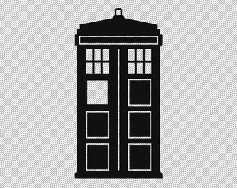 Vinyl Decal- Doctor Who Tardis