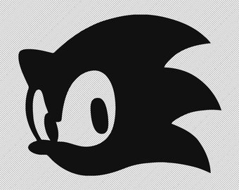 Vinyl Decal- Sonic The Hedgehog
