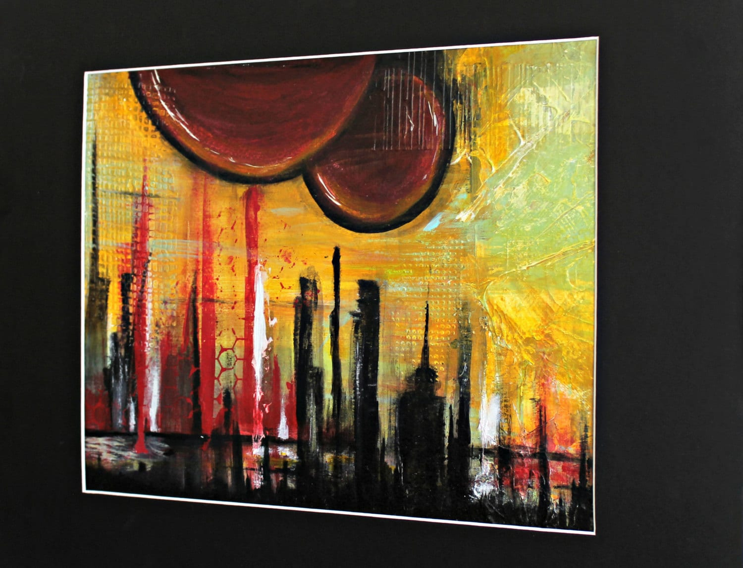 Abstract Acrylic Painting By Crystal Renee. Original Art