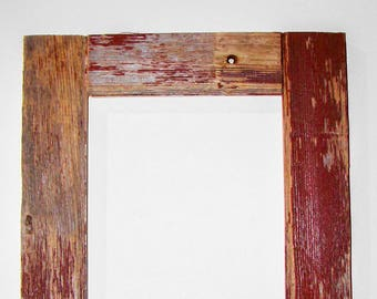 Authentic BarnWood Frame 16x20, Old Barn Wood, Recycled, RePurposed, UpCycled, Reclaimed, Vintage Farmhouse Wood Frames, Seasoned by Nature!