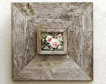 3 x 5 inch Custom Barn Wood Frames, Old Barn Wood, Recycled, RePurposed, UpCycled, Reclaimed Wood, Vintage Farmhouse Wood Frames!