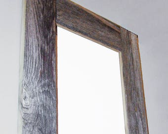 BarnWood Frame, 8 x 10, Old BarnWood, Recycled, RePurposed, UpCycled, Reclaimed, Vintage Farmhouse Wood Frames, Seasoned by Nature!